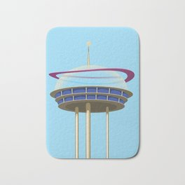 Science fiction Skyscraper. Bath Mat