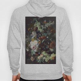 Jan van Huysum Still Life with Flowers and Fruit Hoody