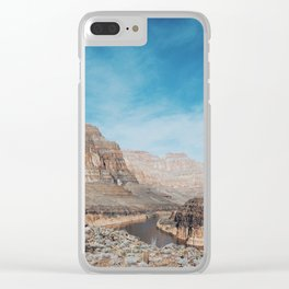 West Rim, Grand Canyon Clear iPhone Case