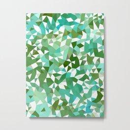Seaweed Tris II Metal Print