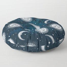 Niño de la Luna Floor Pillow