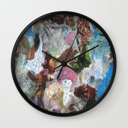 Texture play Wall Clock