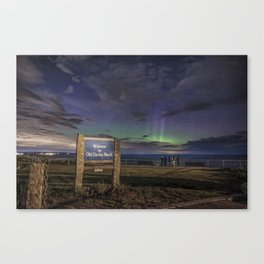 May Aurora at Old Garden Beach #2 Canvas Print