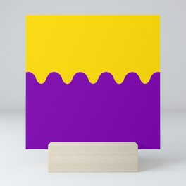Wavy Intersexual Colors Mini Art Print