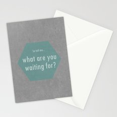 Concrete & Letters II Stationery Cards
