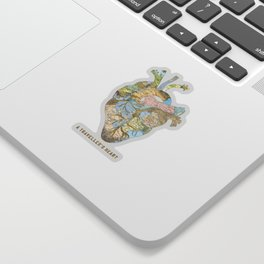 A Traveller's Heart (UK) Sticker