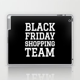 Black Friday Shopping Team (Black & White) Laptop & iPad Skin