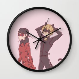 LadyNoir Wall Clock