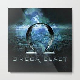 Omega Blast Metal Print
