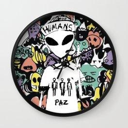 ALIENRULES Wall Clock