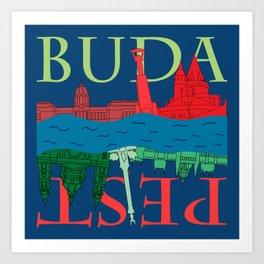 Buda Pest Art Print