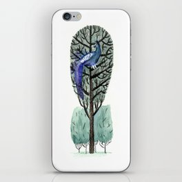Peacock in a Tree iPhone Skin