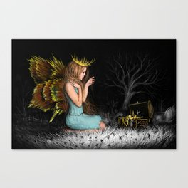 Treasures in the Dark Canvas Print