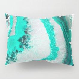 Mint Agate Pillow Sham