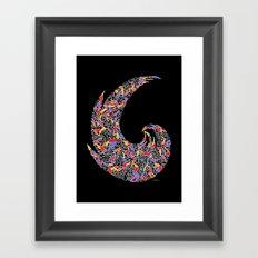 - disco pop - Framed Art Print