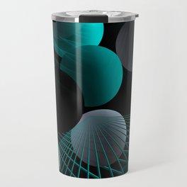 crazy lines and balls -5- Travel Mug