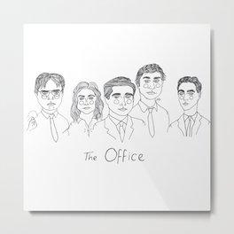 The Office Metal Print