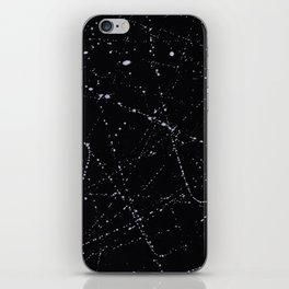 Dazed + Confused [Black] iPhone Skin