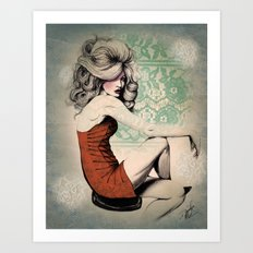 Haute Mess Series Art Print