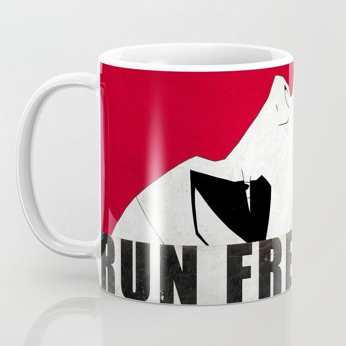 Run Freak Run - Red Coffee Mug