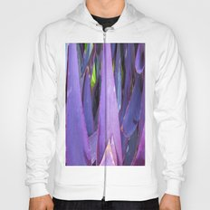 433 - Abstract plant design Hoody