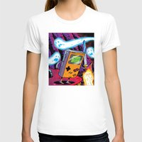 gameboy T-shirts featuring The Legend of Gameboy by thechrishaley