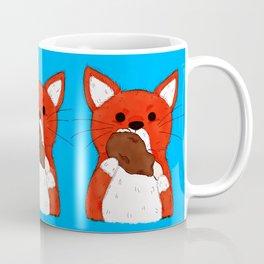 Turkey Leg Fox Coffee Mug