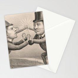 Vintage Electric Lightbulb Inventor & Entrepreneur Art Stationery Cards