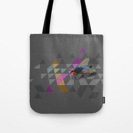Geometric Housefly Tote Bag