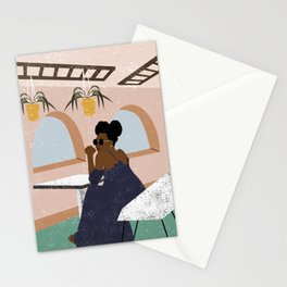 Beauty Has No Color Stationery Cards