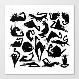 Catbutt Canvas Print