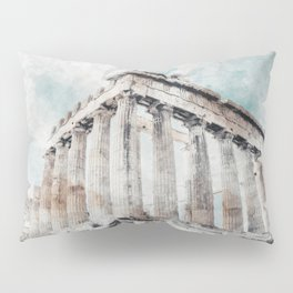 Parthenon Pillow Sham