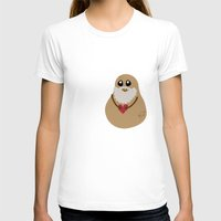 potato T-shirts featuring Plato Potato by geeksweetie