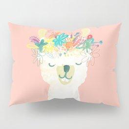 Llama Goddess Pillow Sham