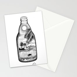 Sip of paradise Stationery Cards