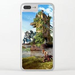 London [Horizon Zero Dawn] Clear iPhone Case