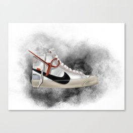OFF WHITE BLAZER Canvas Print