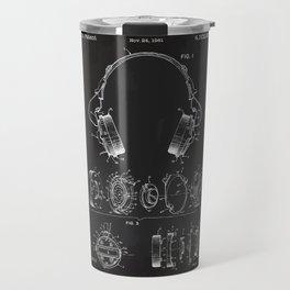 Headphone patent Travel Mug
