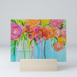 Running Roses Mini Art Print
