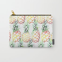 Retro Pineapples Carry-All Pouch