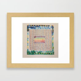 interface zero/two Framed Art Print
