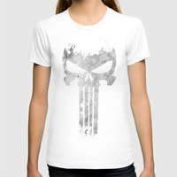 punisher T-shirts featuring The Punisher  by Ricardo A.