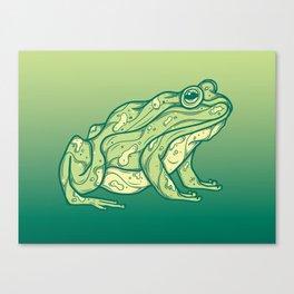Frog Canvas Print