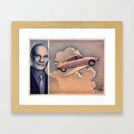 JEAN MARAIS 1965 - FANTOMAS Framed Art Print