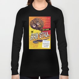 """The Brain Stalk"" Movie Poster Long Sleeve T-shirt"