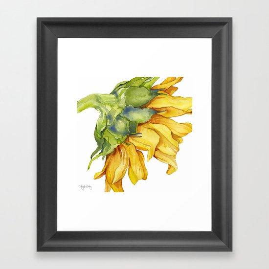 Sunflower by cindylouillustration