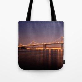 Bay Bridge // San Francisco // California Tote Bag