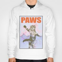 jaws Hoodies featuring paws / Jaws by tshirtsz