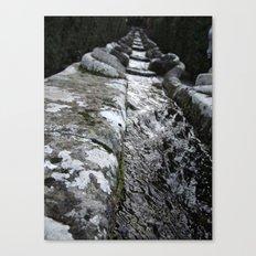 Villa Lante Water Chain Canvas Print