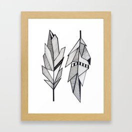 Sacred Feathers Framed Art Print